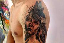 tattoo india americana plumas
