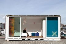 ˈärkiˌ | CONTAINER | CABIN . RETREAT / by ATELIER DIA