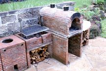 Barbeque, pizza oven