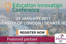 Education Innovation Conference / Education Innovation Conference 2017, to avail a special 20% delegation fee discount, write to us at contactus@studentingera.com #eic2017