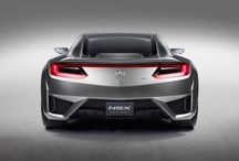 The Acura NSX / The NSX supercar was engineered to be the perfect balance of power and handling, form and function, sport and luxury.