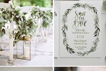 Greenery, Color of the Year 2017 - Wedding Inspiration