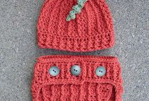 Crochet & knitting Hats, beanies, baby sets