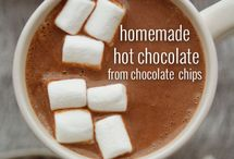 Chocolate drinks / You don't just have to eat chocolate - you can drink it too!