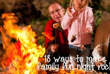Family Fun Ideas / Ideas for families to enjoy and create memories together.