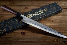 Yu Kurosaki's Shizuku knife range / The Shizuku Japanese Knife range.