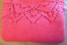 Ting jeg har strikket