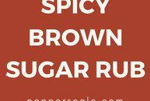 Brown Sugar Rubs