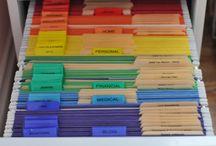 Organization! / by Ginny J