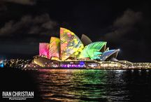 Vivid Sydney / Photo's that I took at Sydney's Vivid festival.