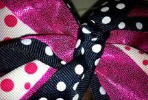 Cheer bows :)