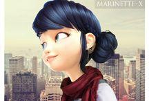 marinett♡♥
