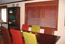 Wood Blinds / Brings beauty of exotic wood indoors, provides a warm, natural look, and offers complete light control.