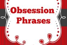 Love and relationship quotes (obsession phrases)