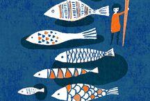Oceans + fish