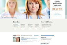 orthodontics website template design