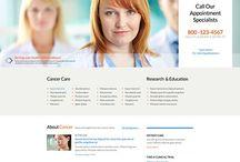 orthodontics website template design