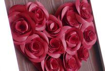 Valentine & Homemade / Homemade deco, DIY for Valentine