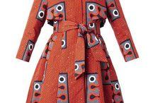 A line Jacket dresses