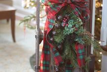 Christmas plaid / Mad for plaid decorating in 2014! / by Sea Spray Inn