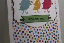 DIY Paperwork Ideas - Baby Cards