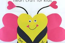 Happy Valentine's Day / Valentine's Day Ideas and activities for children in preschool and daycare.