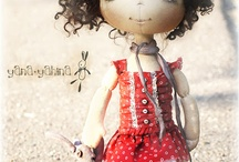 Beautiful creative dolls
