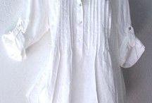 Blusas brancas