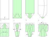 Kimono origami
