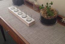 dining room / my contemporary twist