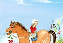 Kids' Picture Books / These are books I have written and illustrated for children. They are mainly about horses at my riding school in Australia.