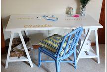 workspace. / by orangepinkgreen