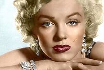 Marilyn Monroe close up / Close up throughout time