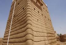 Construction en terre crue / architecture de terre crue à travers le monde