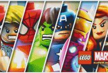 Another Pixel Art Bricks project--LEGO Super Heroes