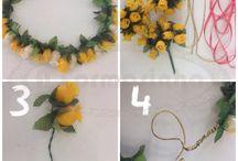 Coroas e Tiaras de Flores