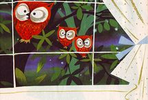 Childrens Book Illustrators / Illustrations of vintage childrens books by amazing artists.
