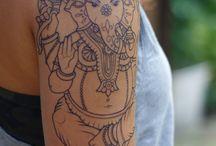 tatuagem Ganesha