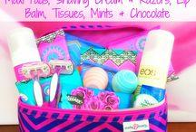 Teen girls survival kit