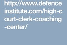 high court clerk coaching in Chandigarh / Defence Institute is the Best Punjab and Haryana  High Court Clerk Coaching in Chandigarh and high court  clerk exam preparation.