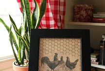 Rooster kitchen