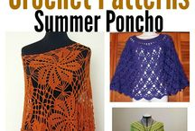 Crochet ponchos and capes / Find crochet patterns and inspiration for your projects.