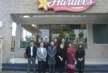 A Day At Hardee's / We are extremely grateful to the Management of Hardees for inviting 100 of our kids on the inauguration of their new branch at Defence-Z block, Lahore. The kids spent a fun filled day munching on their amazing charbroiled burgers.