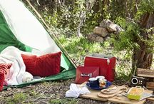 Romantic glamping / Raising the 'amp' in camping