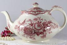 Tazze inglesi e teapot