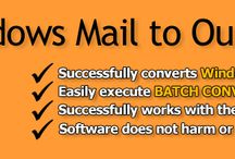 Convert EML files into Outlook PST / Now get solution if want to change data from Windows Live Mail, Thunderbird to Outlook.
