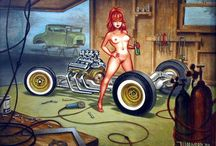 custom garage art