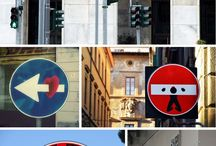 Street and Road Signs