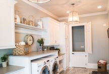 Love Your Laundry / We all have it. Most of us hate it. Check out these lovely laundry rooms that might motivate instead of procrastinate the inevitable day of laundry.