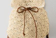 mochilas y bolsos crochet